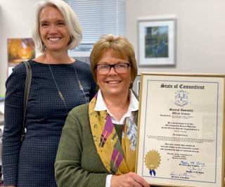 Linda Amerighi & Maria Horn-State Rep